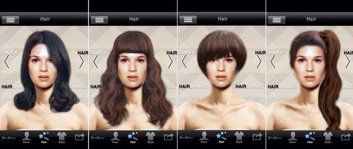 Как на фото поменять цвет волос онлайн