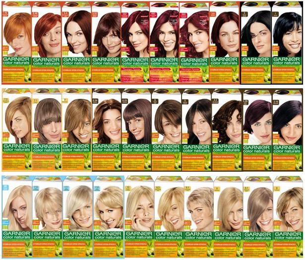 Cool краска для волос гарньер: палитра цветов (фото.