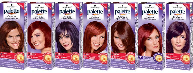 Краски для волос от Шварцкопф