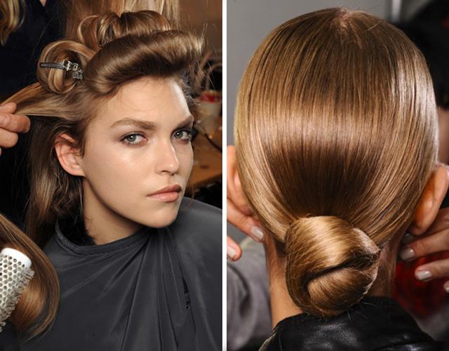 Волосы светло-орехового оттенка