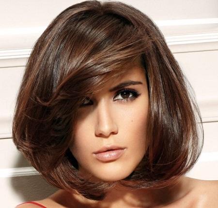 Волосы темно-орехового оттенка