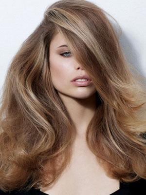 Русые волосы, оттенок краски