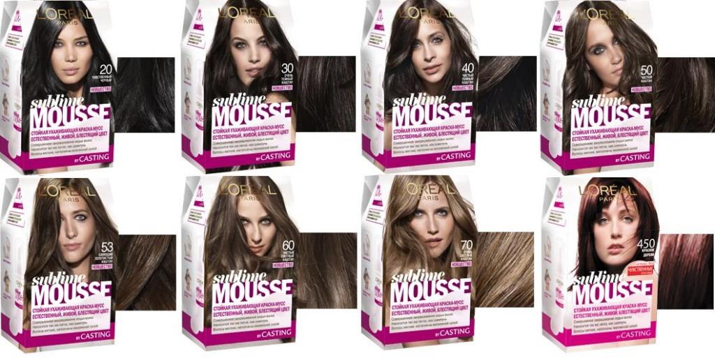 Краска мусс для волос отзывы