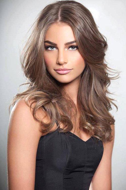 Пепельно коричневый волос цвет краска для волос