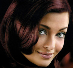 Цвет волос махагон