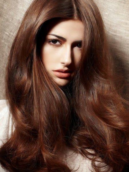 Девушка с красивым цветом волос