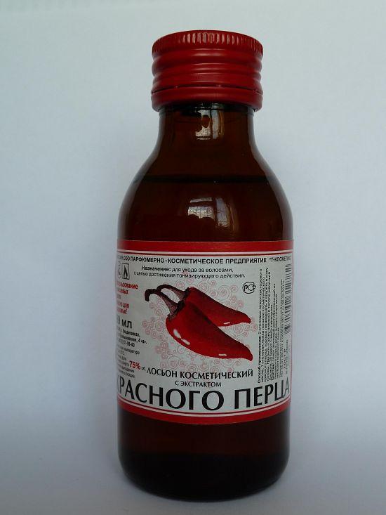 Лосьон на основе красного перца