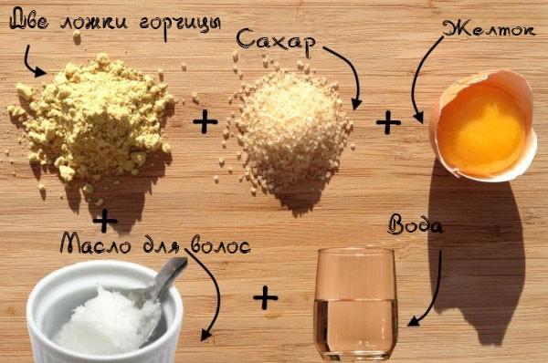 Рецепт маски с горчицей