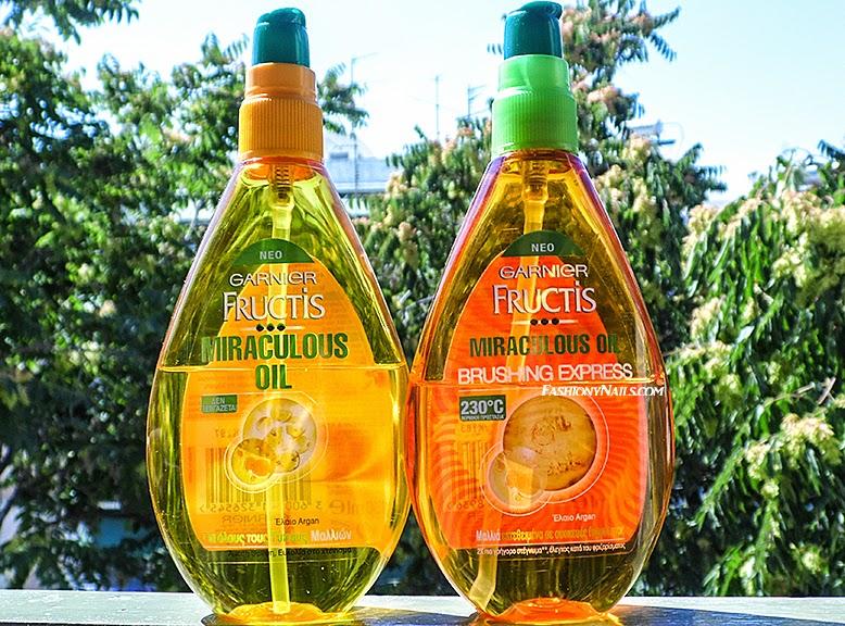 Желтое и оранжевое масло для волос
