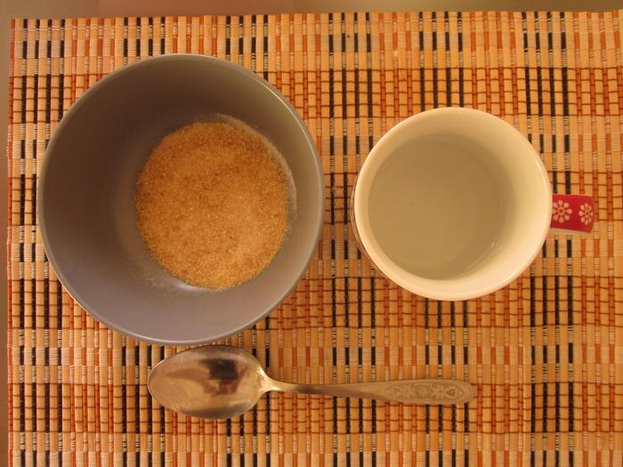 Ингредиенты для маски с желатином для кудрявых волос