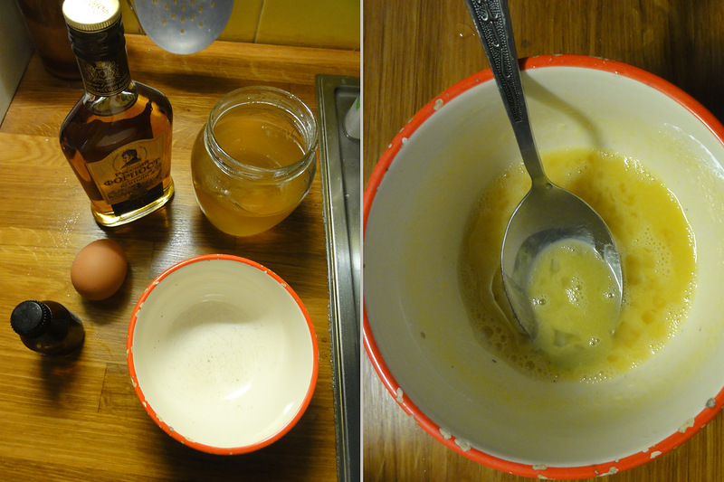 коньяк и масло от паразитов