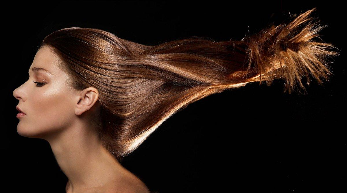 Роскошные длинные волосы
