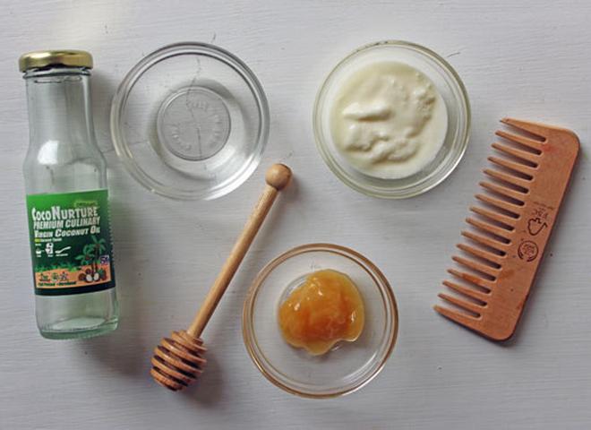Ингредиенты для домашней маски