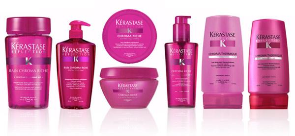 Разнообразные упаковки со средством розового цвета