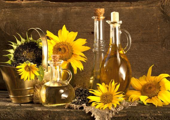 Цветы подсолнухов и продукты из них