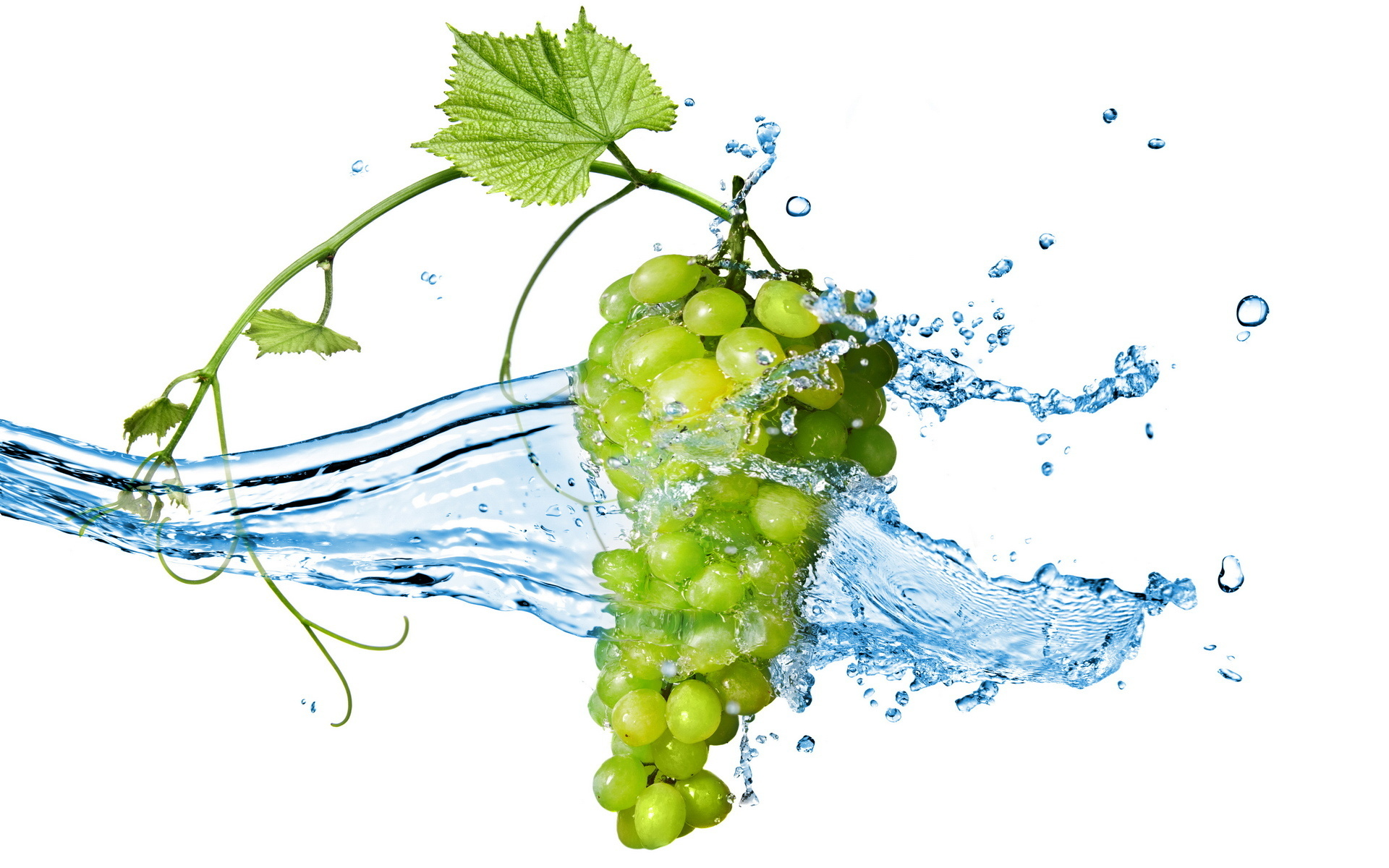 Сочный виноград