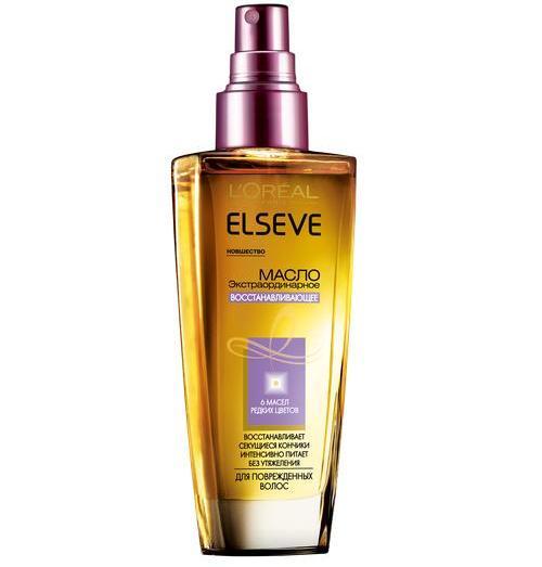 Лореаль экстраординарное масло для волос