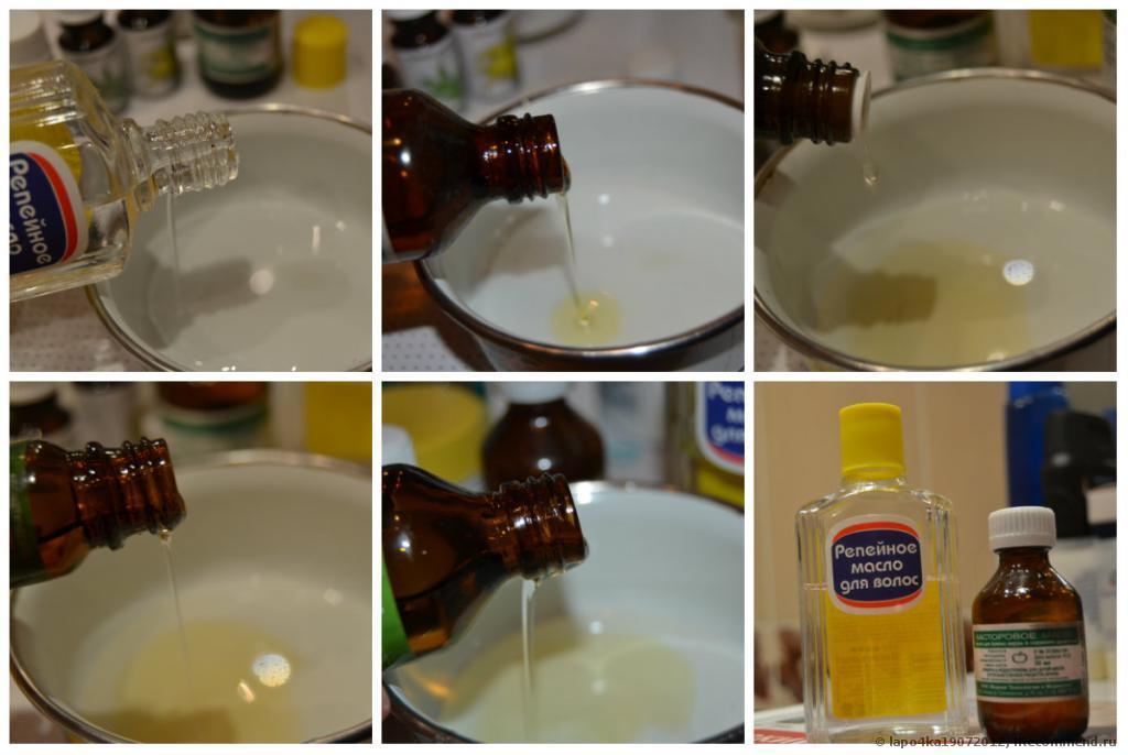 Репейное масло для волос когда эффект