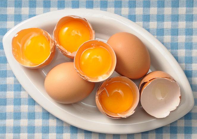 Яйца - популярный компонент