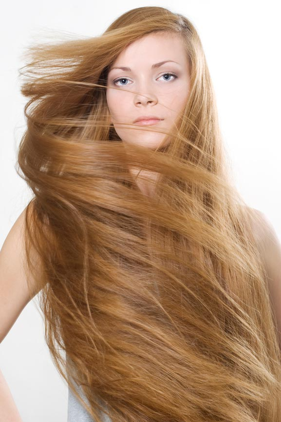 Здоровые ухоженные волосы