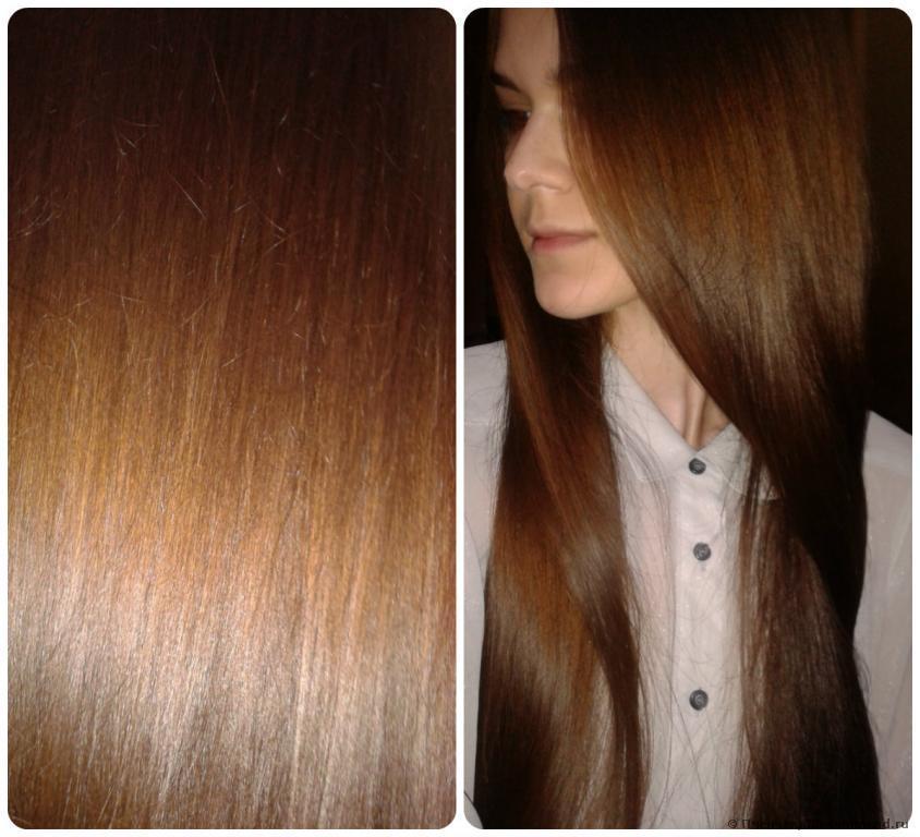 Волосы после ухода